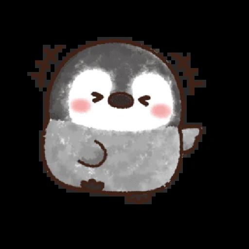 粉彩企鵝 - Sticker 20