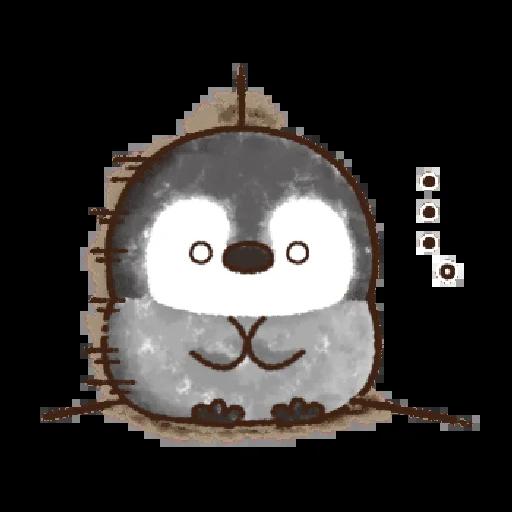 粉彩企鵝 - Sticker 19