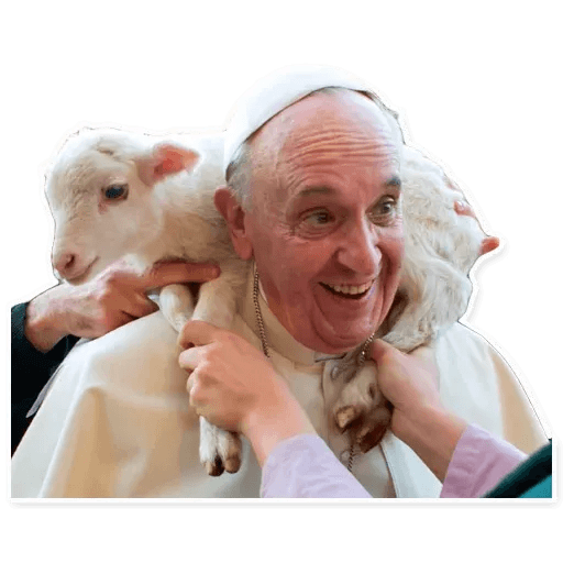 Papa Francesco - Sticker 8