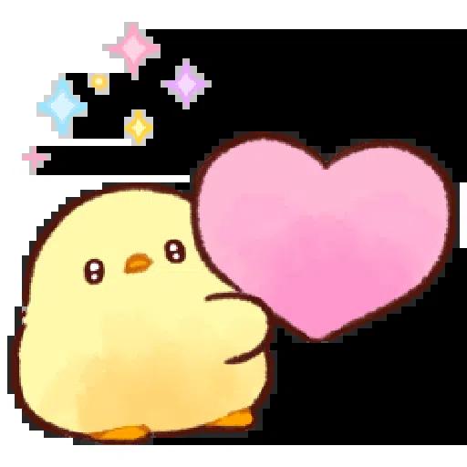patata cuoricina - Sticker 2