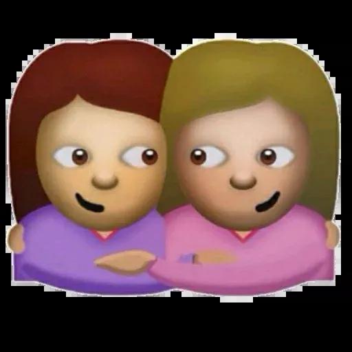 Large emoji - Sticker 4