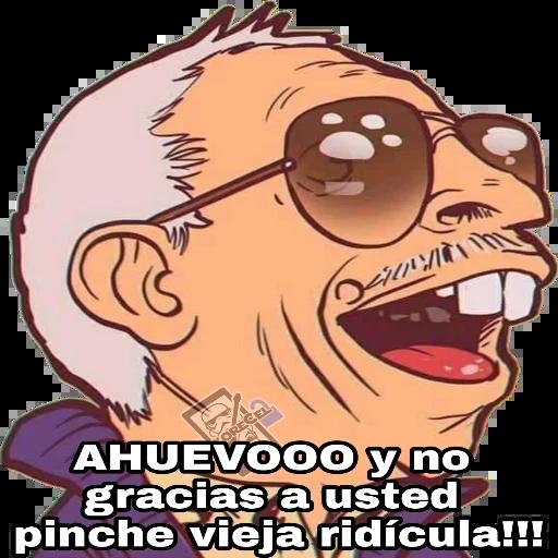 El Señor De La Combi - Sticker 4