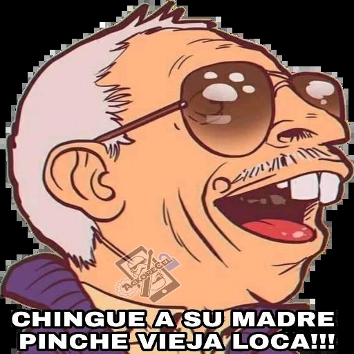 El Señor De La Combi - Tray Sticker