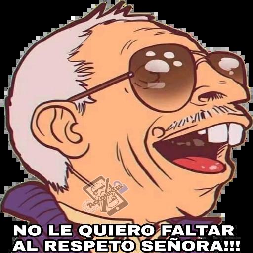 El Señor De La Combi - Sticker 7