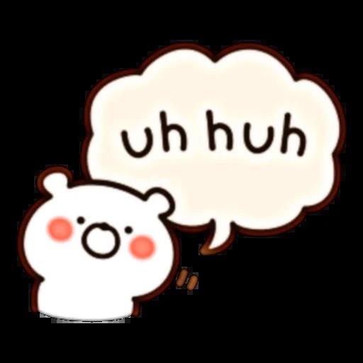 Bear Speech part 2 - Sticker 1