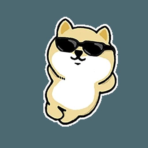 little fat 4 - Tray Sticker