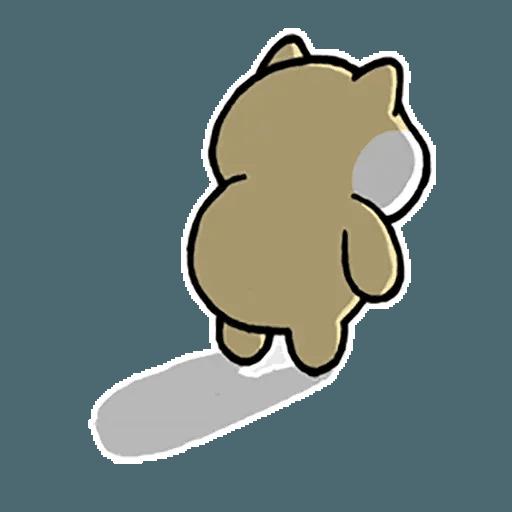 little fat 4 - Sticker 25