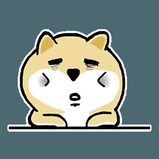 Shiba fat 1 - Sticker 5