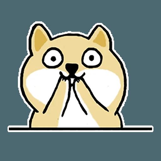 Shiba fat 1 - Sticker 3