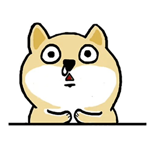 Shiba fat 1 - Sticker 6