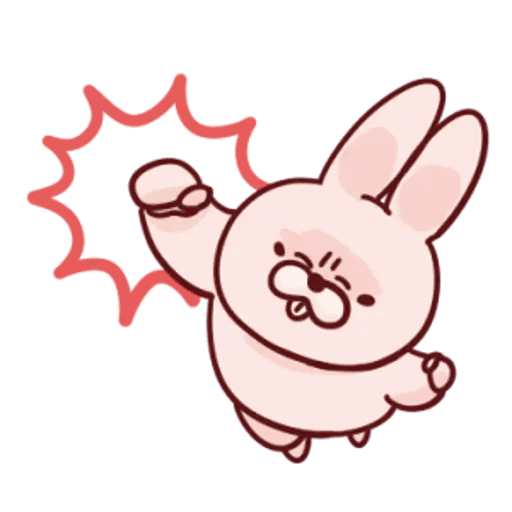 肉肉兔 2 - Sticker 4
