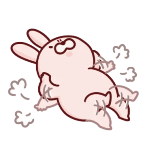 肉肉兔 2 - Sticker 9