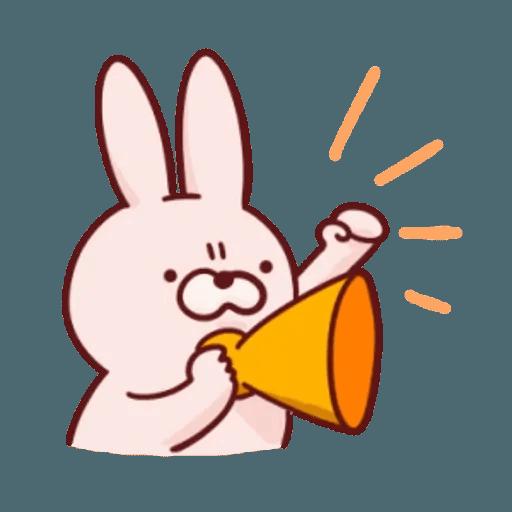 肉肉兔 2 - Sticker 19