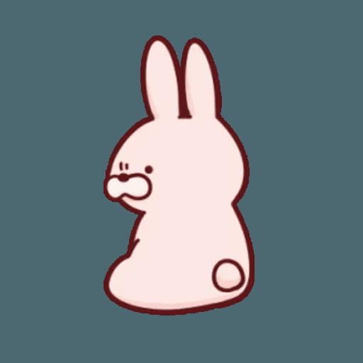 肉肉兔 2 - Sticker 7