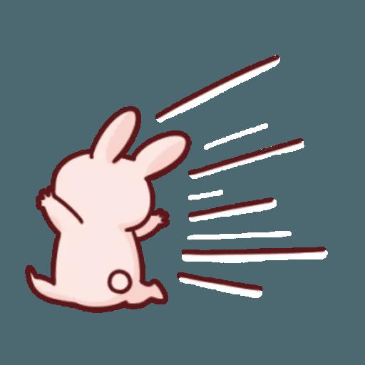 肉肉兔 2 - Sticker 10