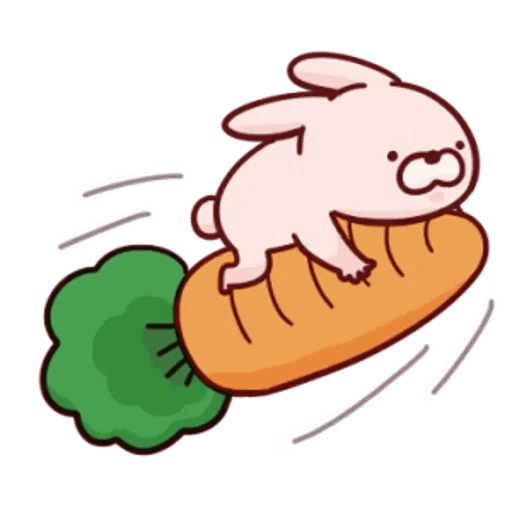 肉肉兔 2 - Sticker 20