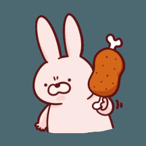 肉肉兔 2 - Sticker 1