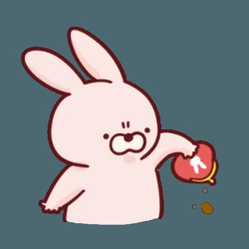 肉肉兔 2 - Sticker 12