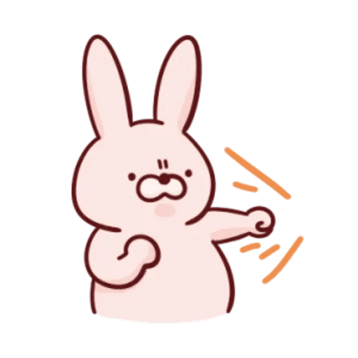 肉肉兔 2 - Sticker 3