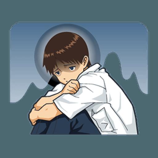 Evangelion Vol3 - Sticker 12