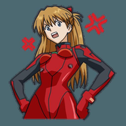 Evangelion Vol3 - Sticker 18