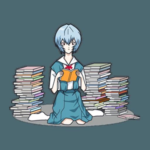 Evangelion Vol3 - Sticker 25