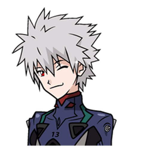 Evangelion Vol3 - Sticker 27
