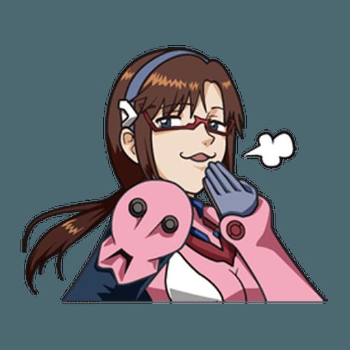 Evangelion Vol3 - Sticker 19
