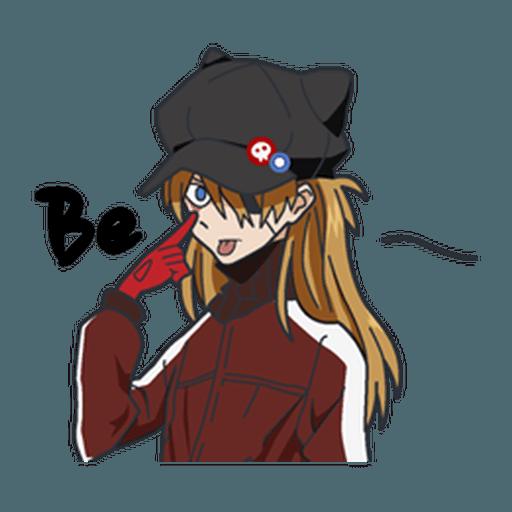 Evangelion Vol3 - Sticker 16