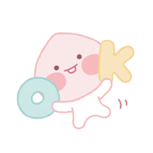 A peach - Sticker 2