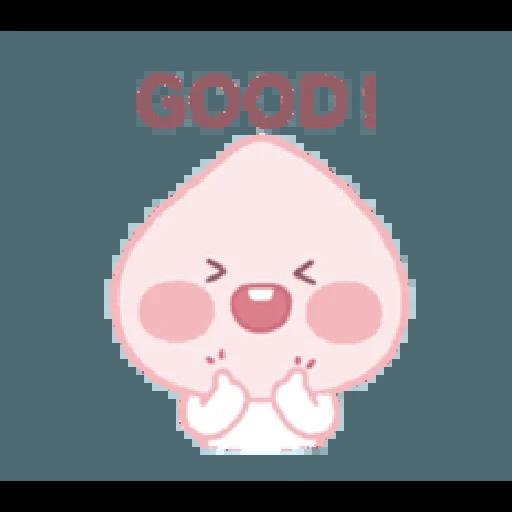 A peach - Sticker 6