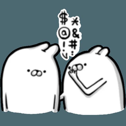 賤賤兔 - Sticker 23