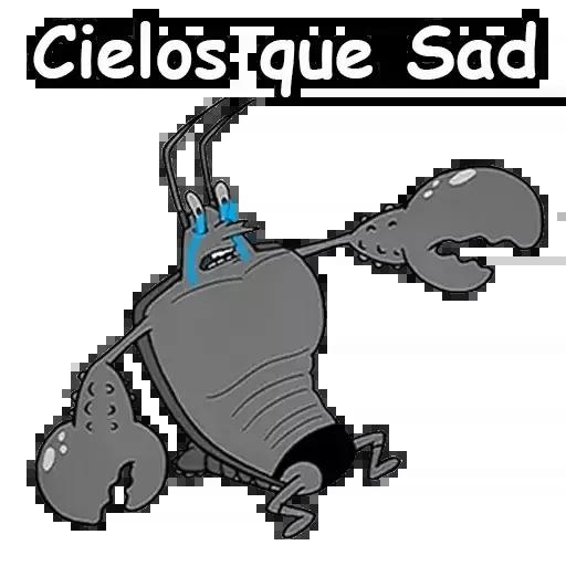 Sad 1 - Sticker 29