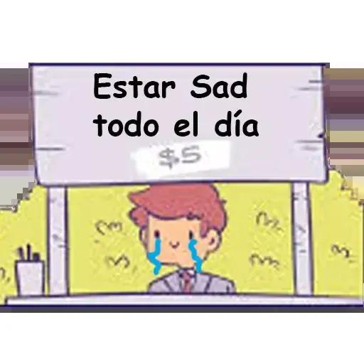 Sad 1 - Sticker 17