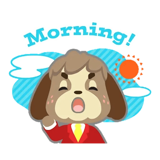 Animal Crossing - Sticker 16