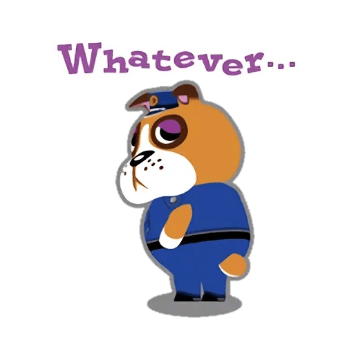 Animal Crossing - Sticker 23