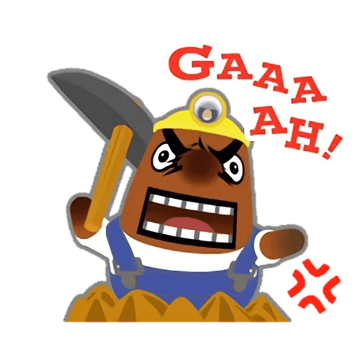 Animal Crossing - Sticker 20