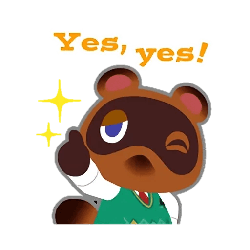 Animal Crossing - Sticker 3