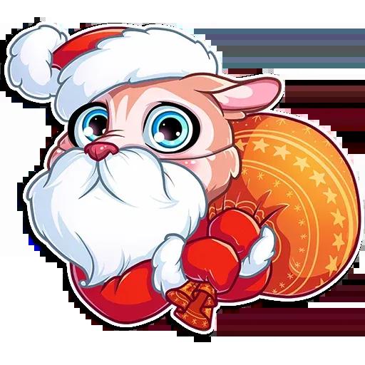 Christmas Dog - Sticker 19