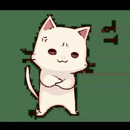 Frown cat 2 - Sticker 2