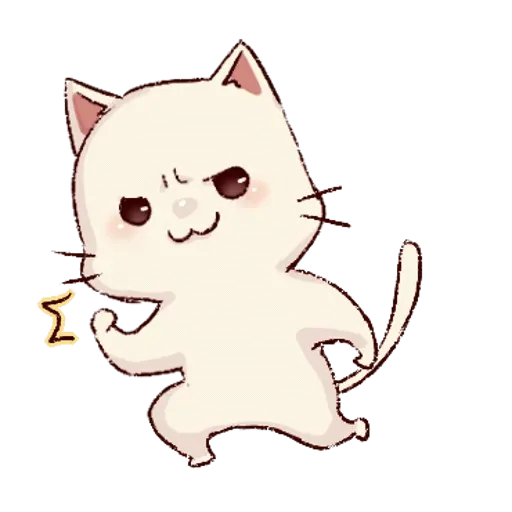 Frown cat 2 - Sticker 1
