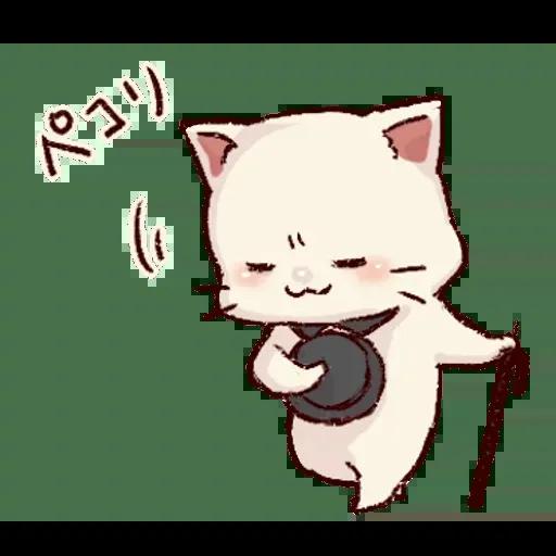 Frown cat 2 - Sticker 12