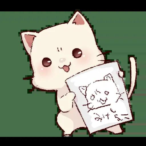 Frown cat 2 - Sticker 3