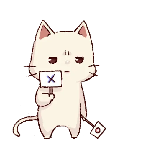 Frown cat 2 - Sticker 8