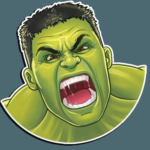 Vengadores - Sticker 9