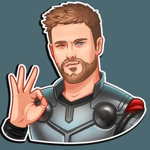 Vengadores - Sticker 16