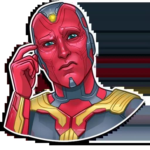 Vengadores - Sticker 11