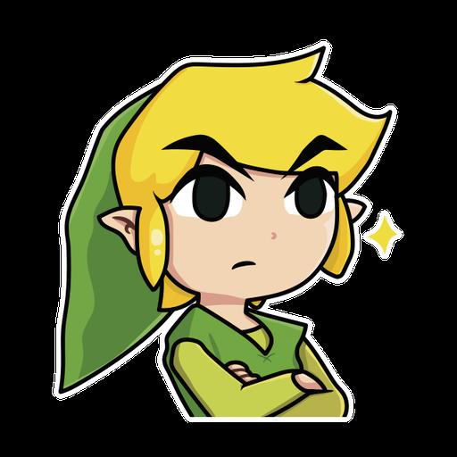 Toon Link - Sticker 4