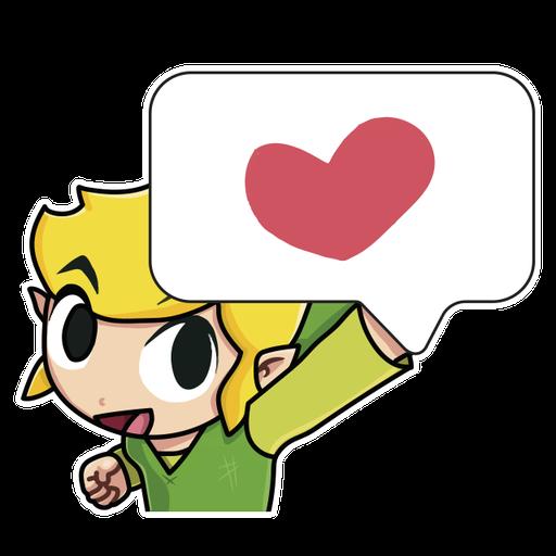 Toon Link - Sticker 1
