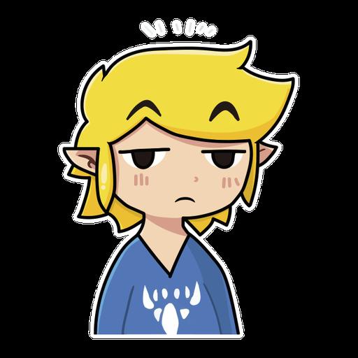 Toon Link - Sticker 3